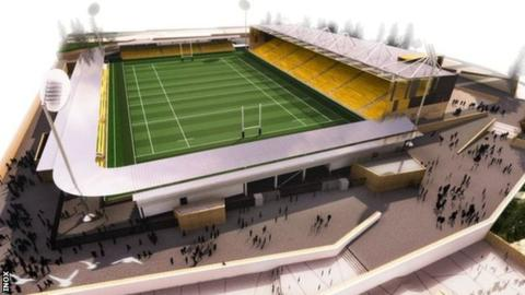Standing ready to deliver a Stadium for Cornwall